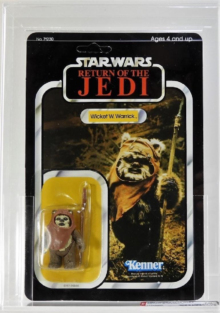 1983 Star Wars ROTJ Wicket W. Warrick AFA 70