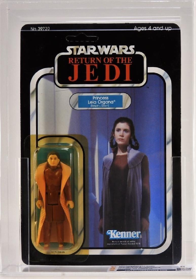 1983 Kenner Star Wars ROTJ Princess Leia CAS MOSC