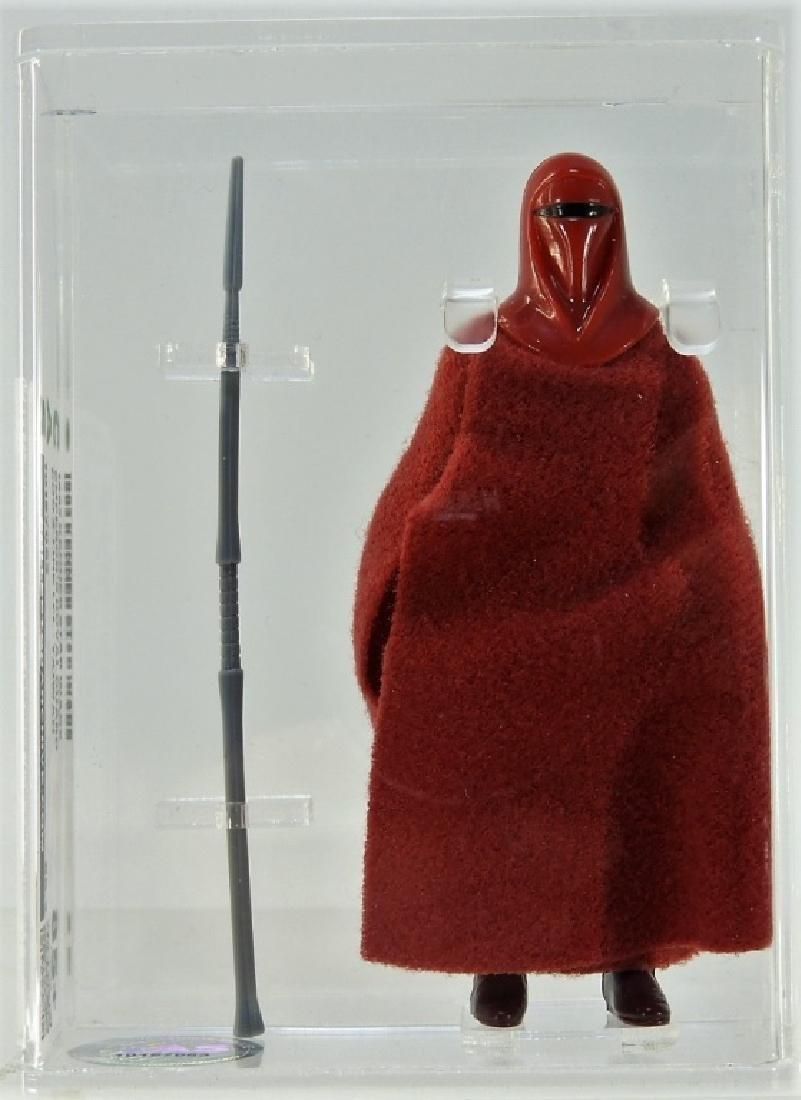 1983 Kenner Star Wars Emperor's Royal Guard CAS 85