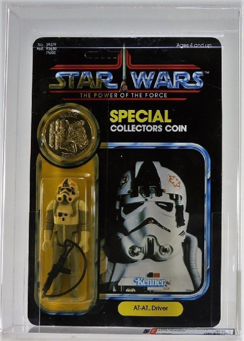 1985 Kenner Star Wars POTF AT-AT Driver AFA 85