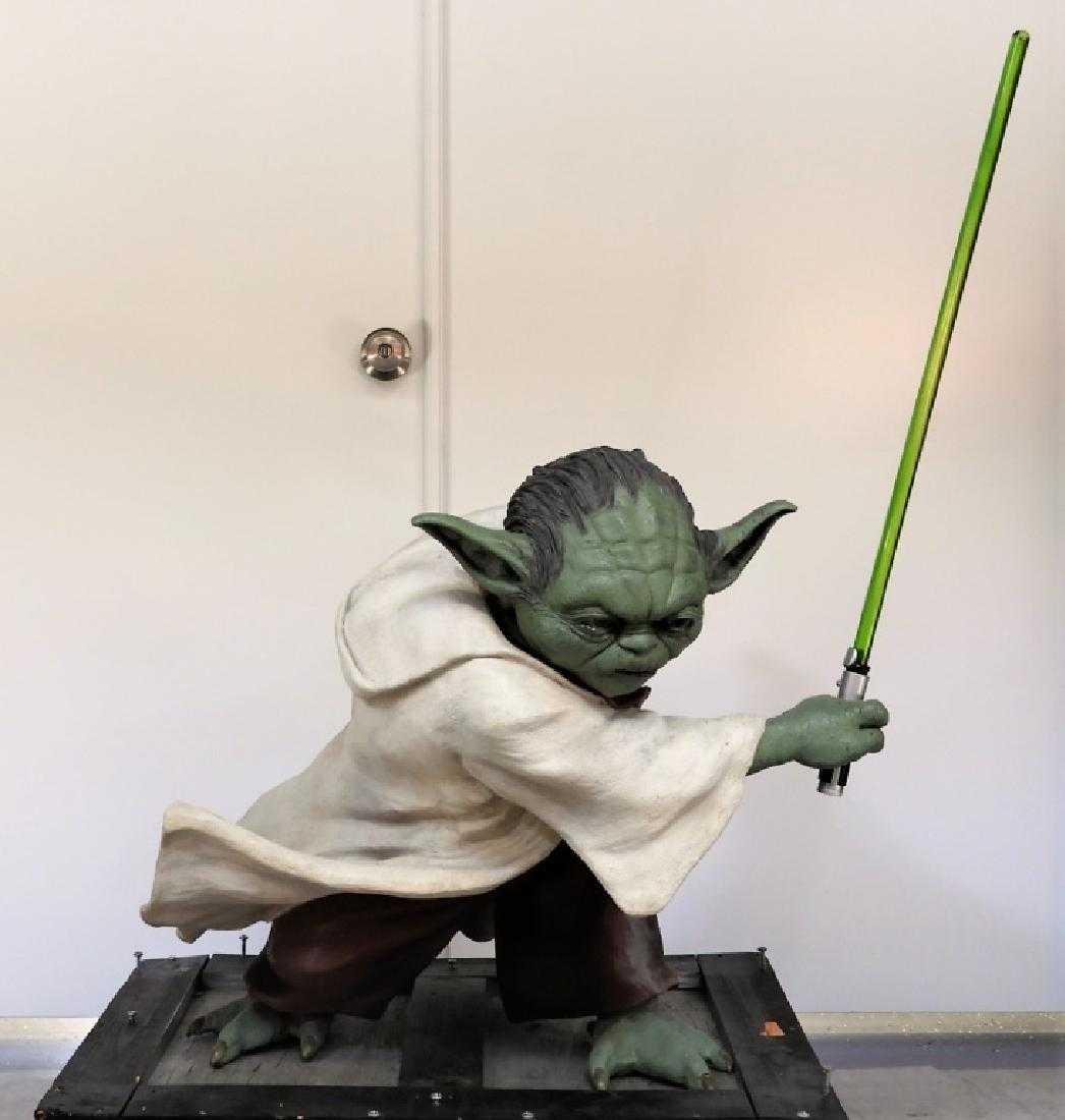 Star Wars Episode Iii Pepsi Promo Yoda Statue