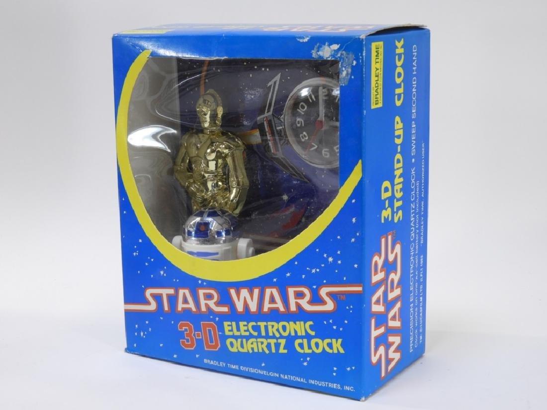 6PC Vintage Star Wars Bradley Clock Novelty Group