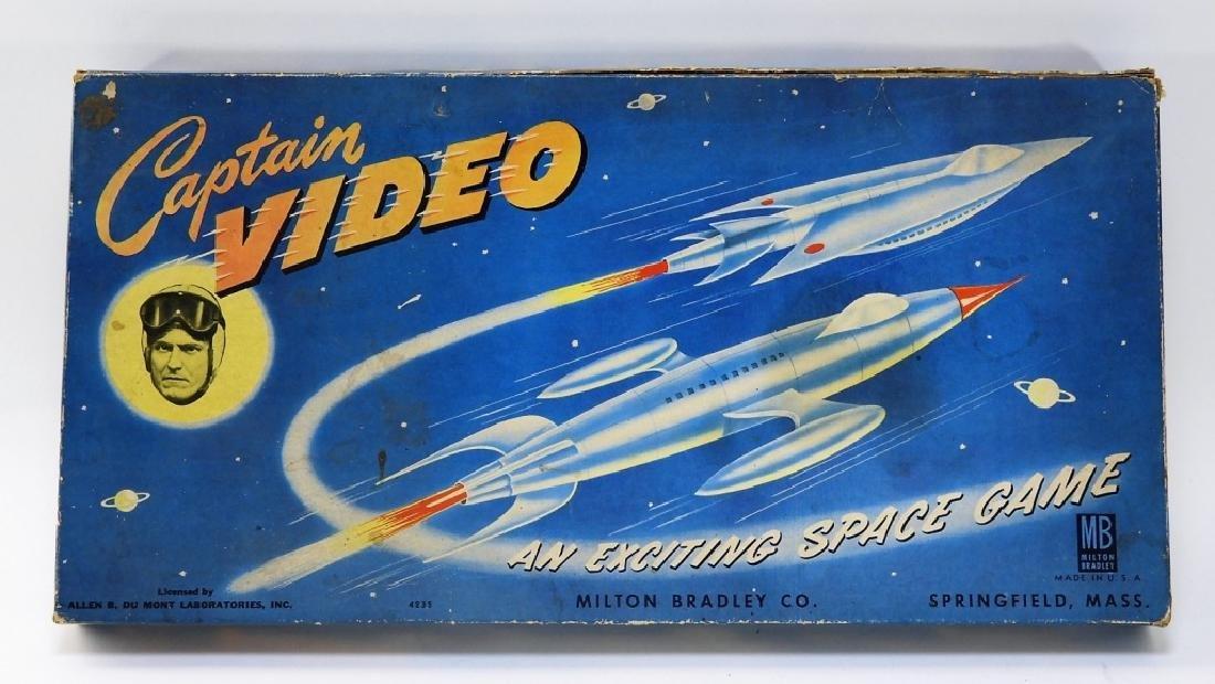 C.1950 Milton Bradley Captain Video Board Game