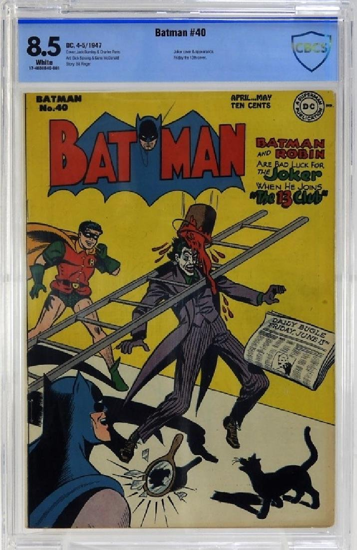 DC Comics Batman No.40 CBCS 8.5