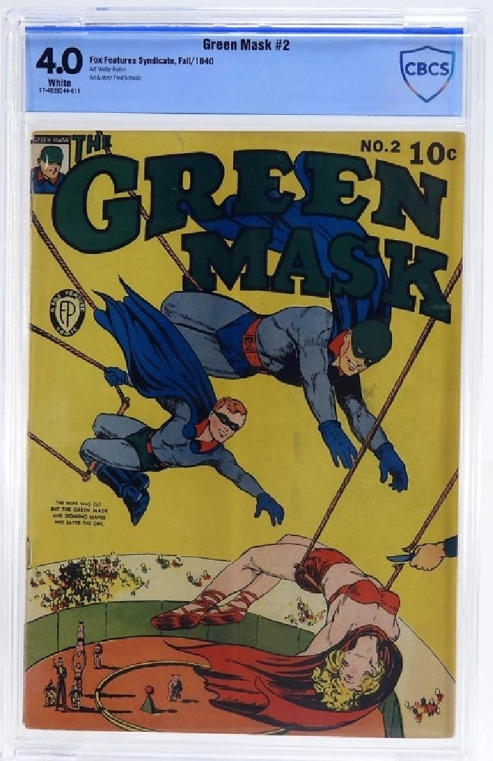 Fox Features Syndicate Green Mask No.2 CBCS 4.0