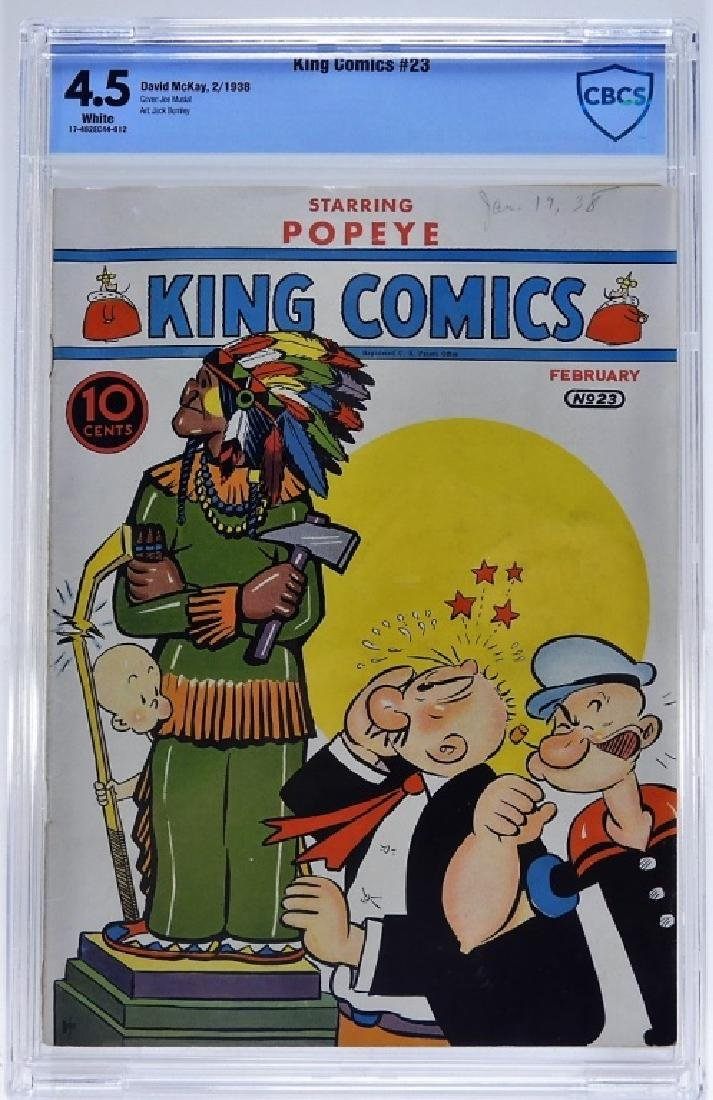 David McKay Publication King Comics No.23 CBCS 4.5