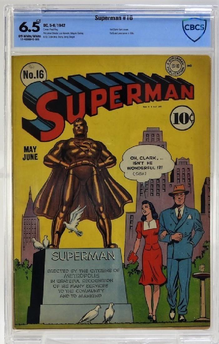 DC Comics Superman No.16 CBCS 6.5