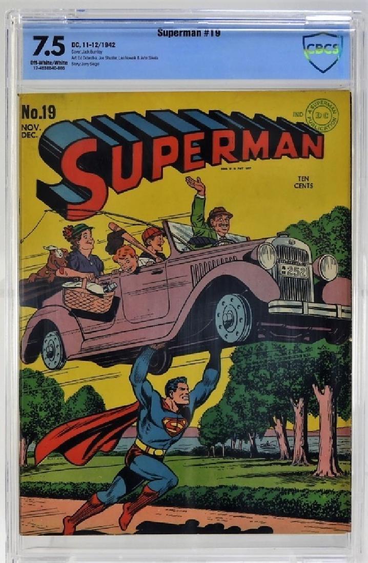 DC Comics Superman No.19 CBCS 7.5