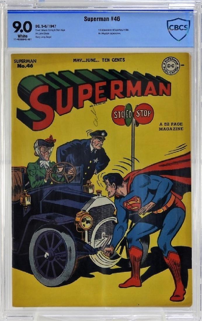 DC Comics Superman No.46 CBCS 9.0