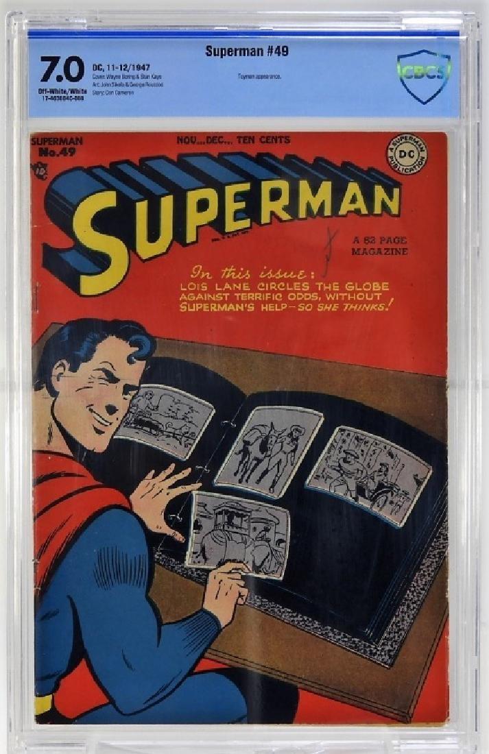 DC Comics Superman No.49 CBCS 7.0