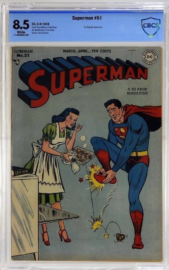 DC Comics Superman No.51 CBCS 8.5