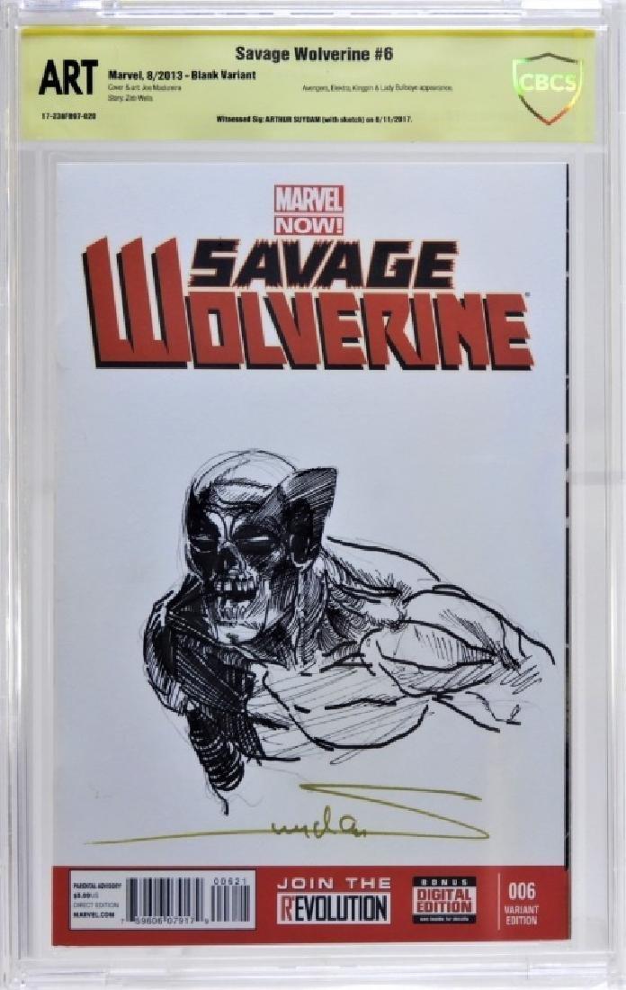 Arthur Suydam Marvel Comics Wolverine Original Art