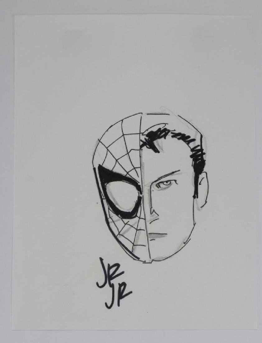 John Romita Jr. Spider-Man Peter Parker Sketch