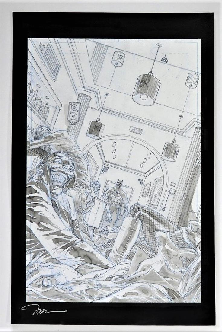 G. Camuncoli Jim Lee Batman Europa Original Art