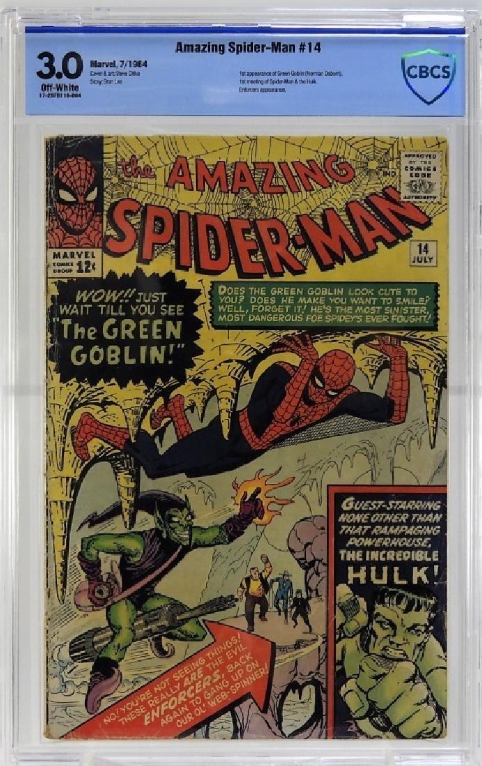 Marvel Comics Amazing Spider-Man No.14 CBCS 3.0