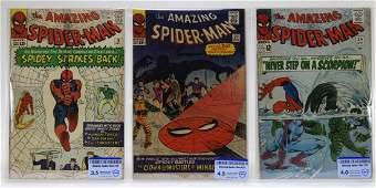 Marvel Comics Amazing Spider-Man No.19 22 29 CBCS