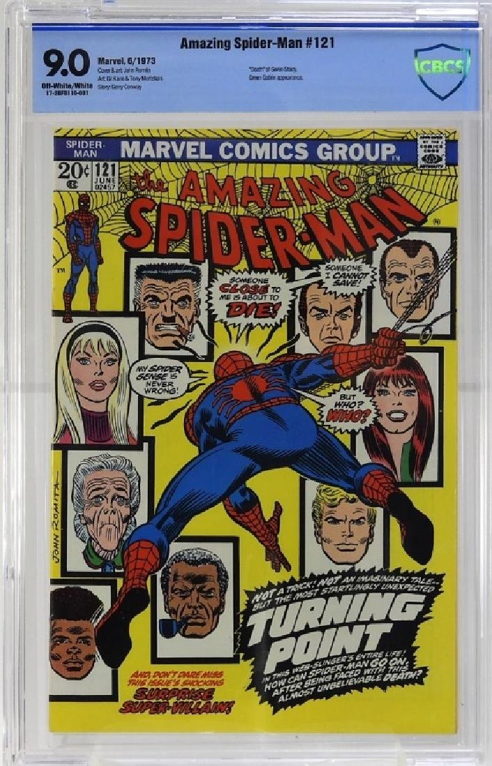 Marvel Comics Amazing Spider-Man No.121 CBCS 9.0