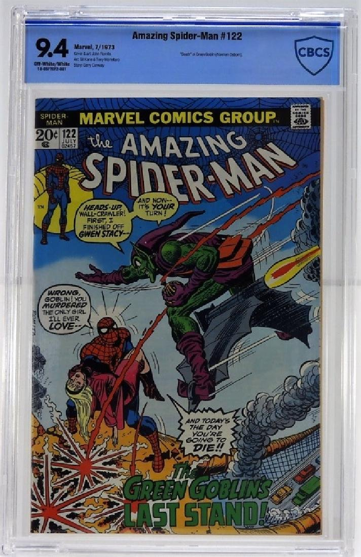 Marvel Comics Amazing Spider-Man No.122 CBCS 9.4