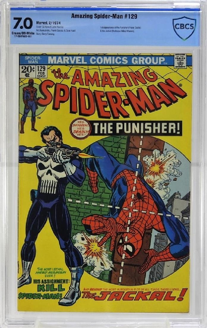 Marvel Comics Amazing Spider-Man No.129 CBCS 7.0
