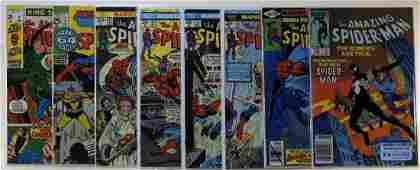 8 Marvel Comics Amazing Spider-Man No.200 252 CBCS