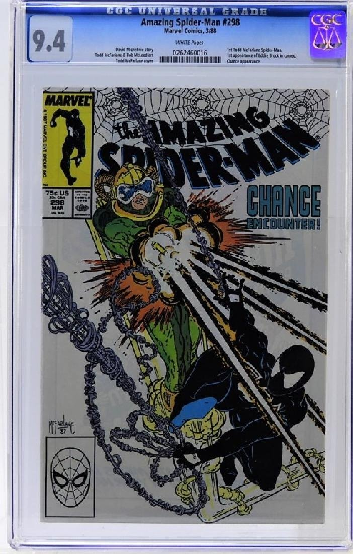 Marvel Comics Amazing Spider-Man No.298 CGC 9.4
