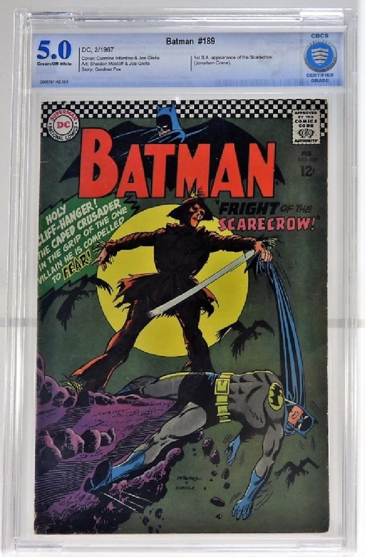 DC Comics Batman No.189 CBCS 5.0