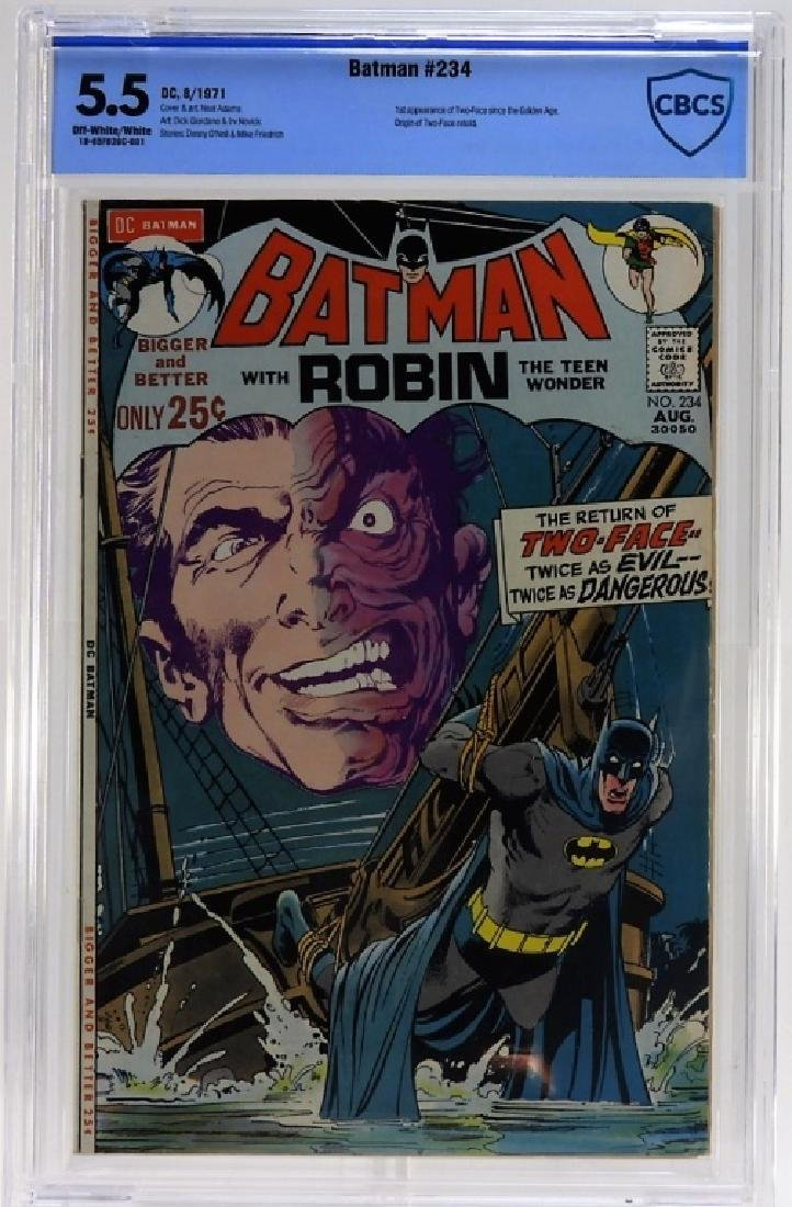 DC Comics Batman No.234 CBCS 5.5