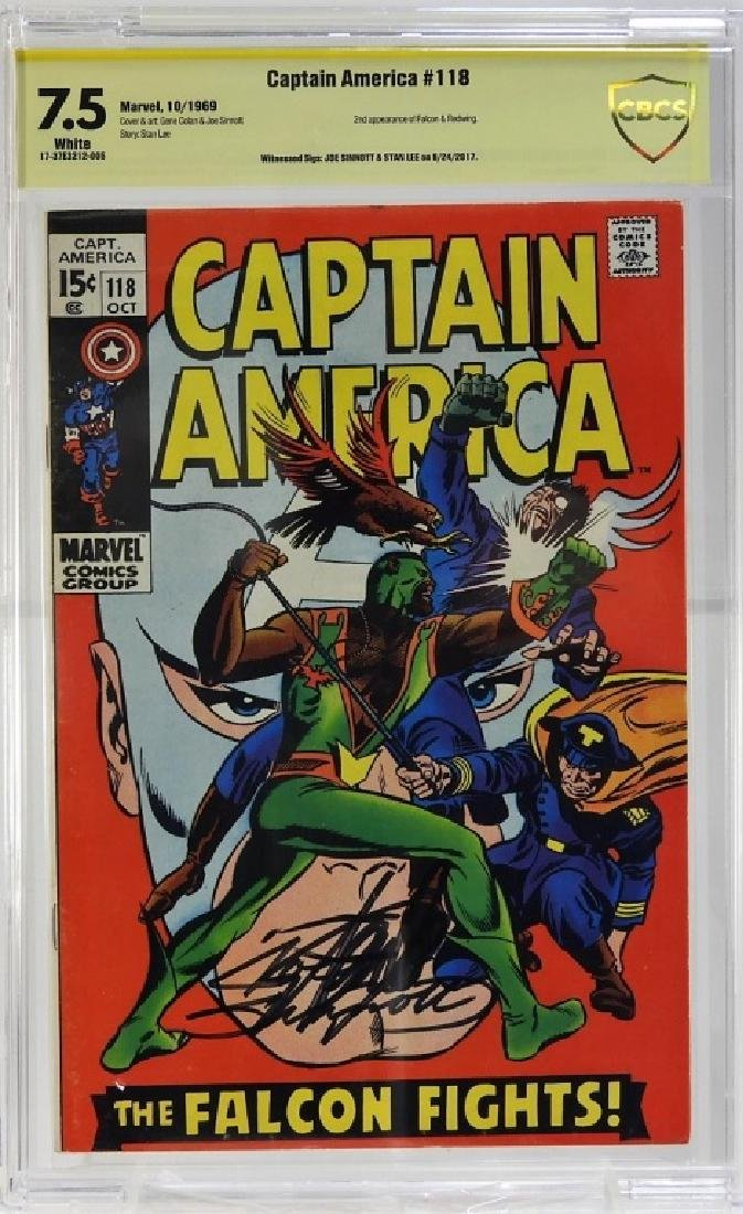 Marvel Comics Captain America No.118 CBCS Gold 7.5
