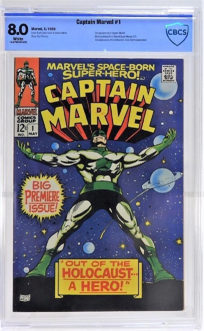 Marvel Comics Captain Marvel No.1 CBCS 8.0