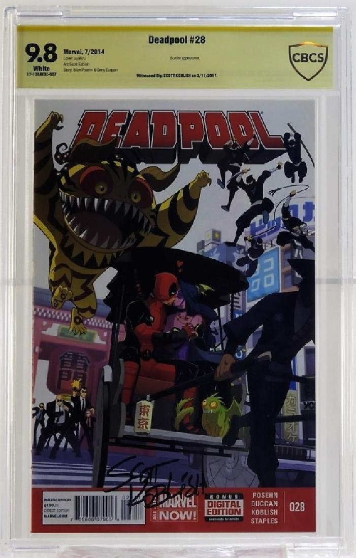 Marvel Comics Deadpool No.28 CBCS Gold 9.8