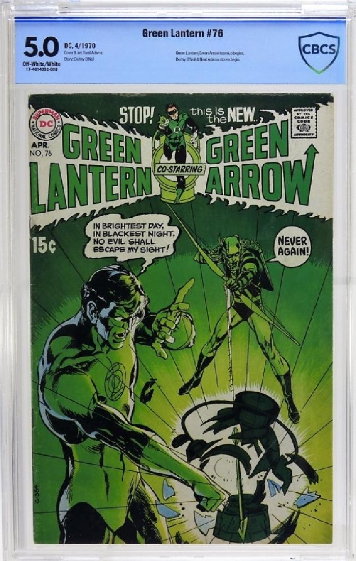 DC Comics Green Lantern No.76 CBCS 5.0