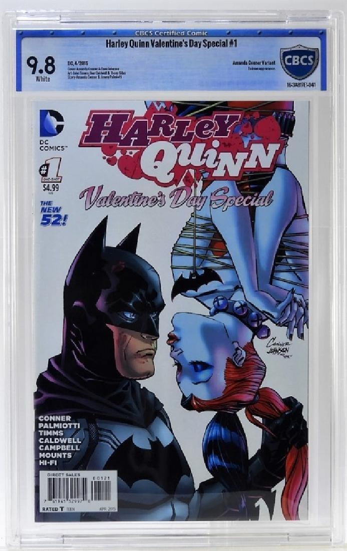 DC Harley Quinn Valentine's Day No.1 CBCS 9.8