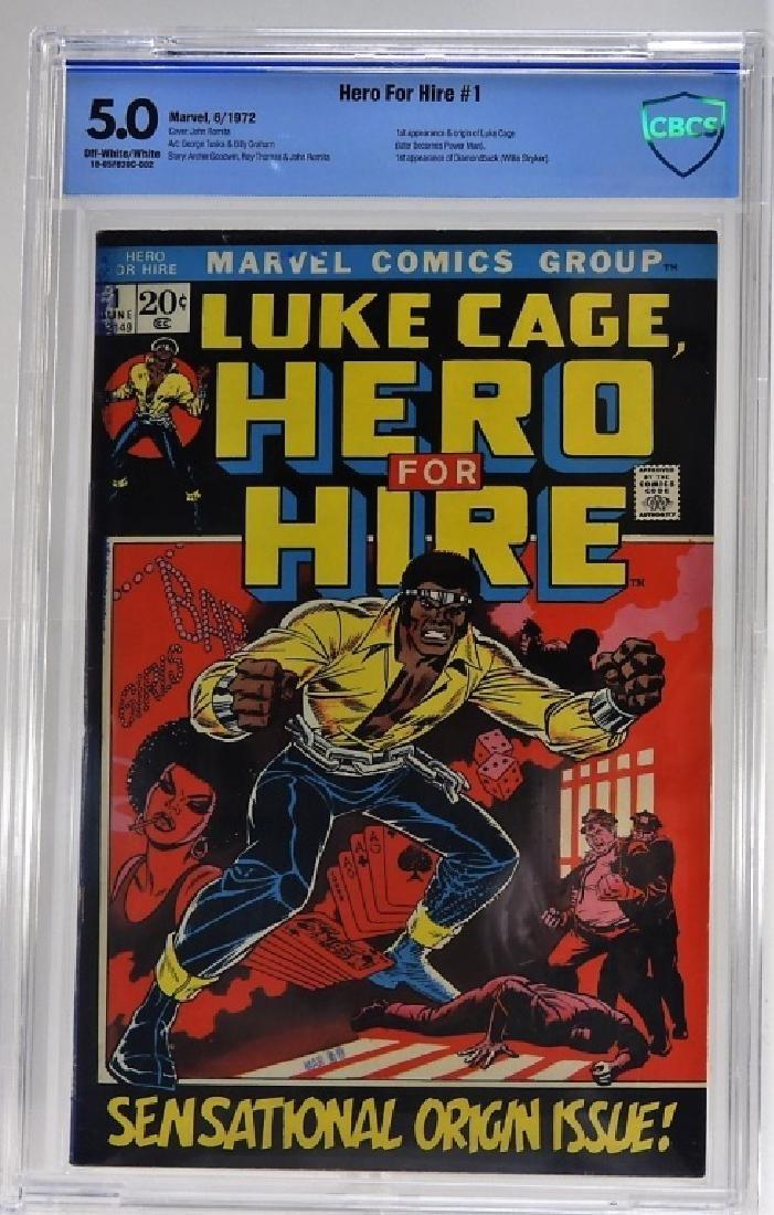 Marvel Comics Hero For Hire No.1 CBCS 5.0
