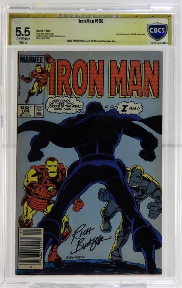 Marvel Comics Iron Man No.196 CBCS Gold 5.5