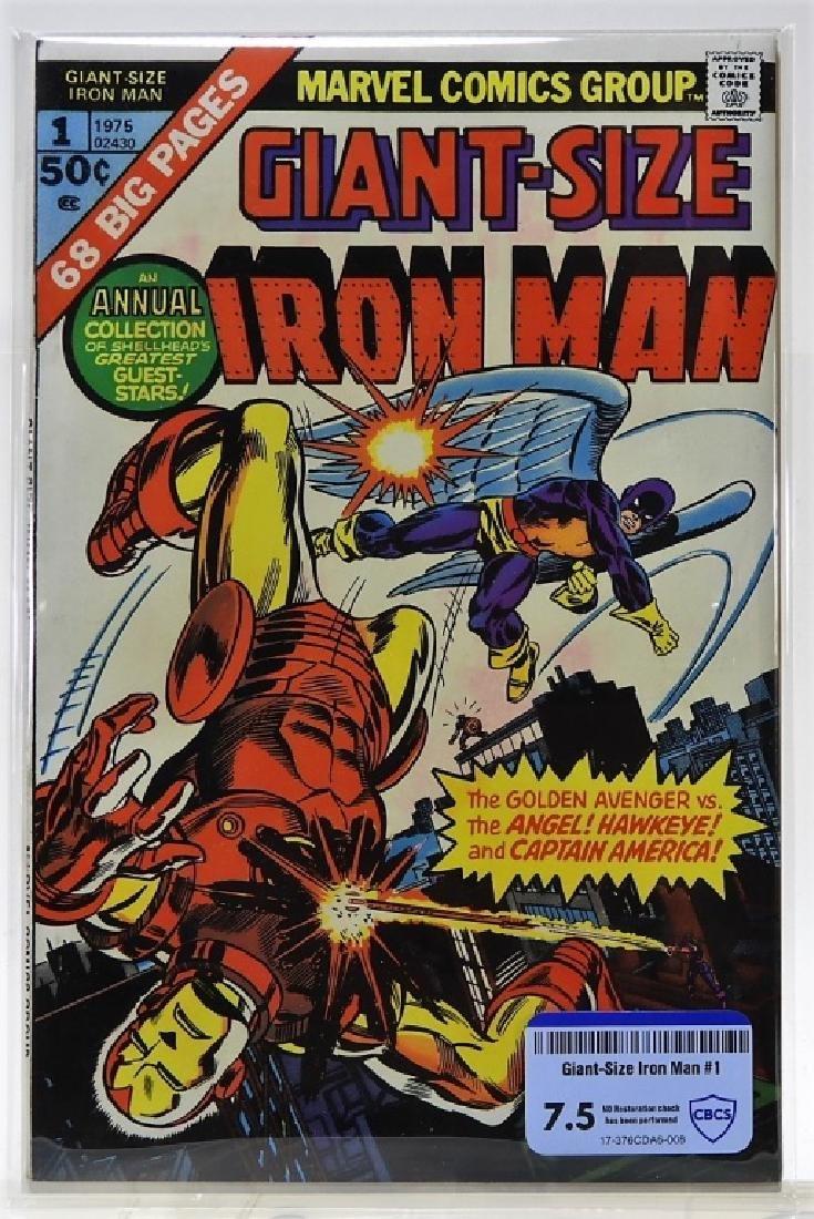 Marvel Comics Giant-Size Iron Man No.1 CBCS 7.5
