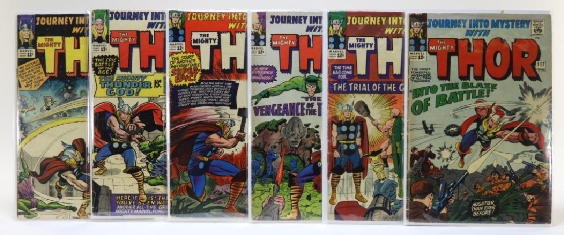 6 Marvel Comics Journey Into Mystery CBCS