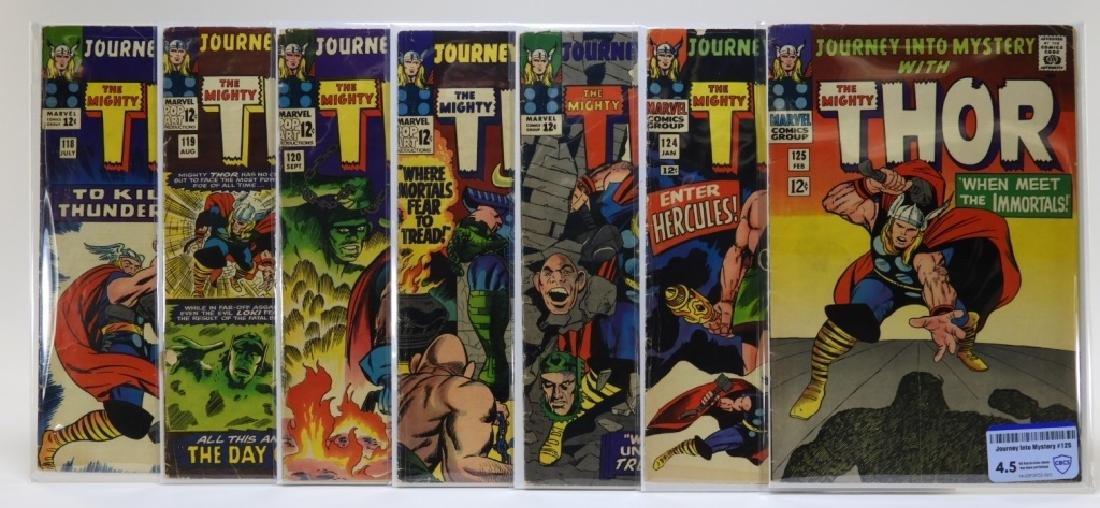 7 Marvel Comics Journey Into Mystery CBCS