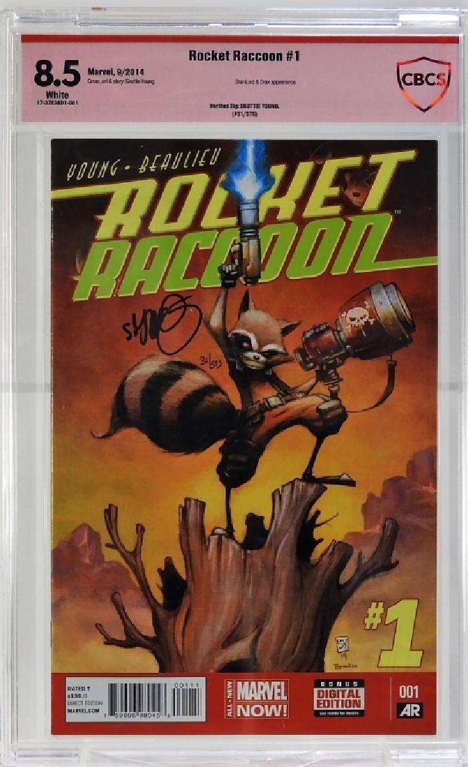 Marvel Comics Rocket Raccoon No.1 CBCS 8.5