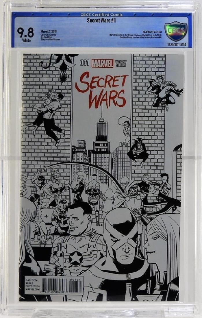 Marvel Comics Secret Wars No.1 CBCS 9.8