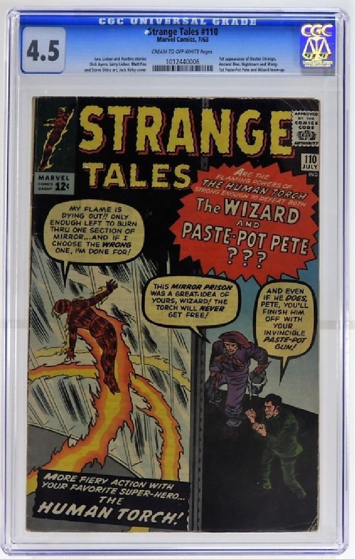 Marvel Comics Strange Tales No.110 CGC 4.5