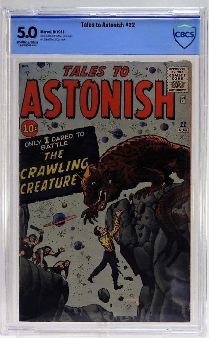 Marvel Comics Tales to Astonish No.22 CBCS 5.0