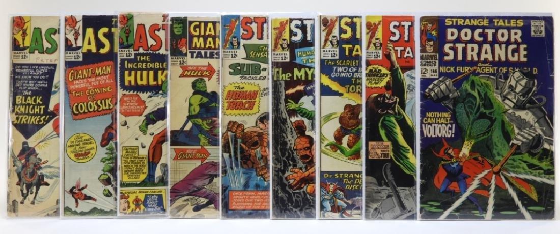 9 Marvel Comics Tales to Astonish & Strange Tales