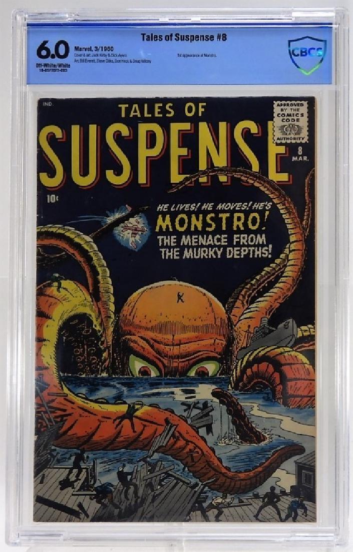 Marvel Comics Tales of Suspense No.8 CBCS 6.0