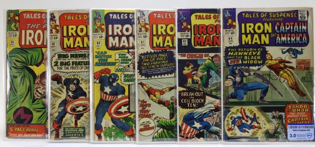 6 Marvel Comics Tales of Suspense Comic Books CBCS