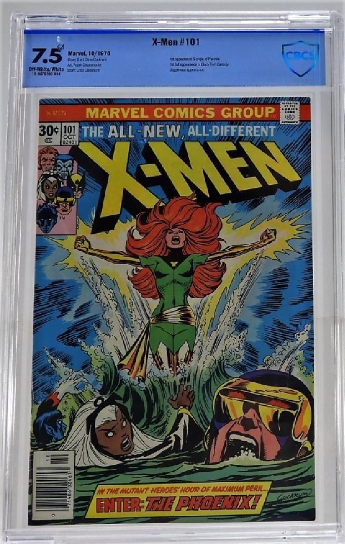 Marvel Comics X-Men No.101 Comic Book CBCS 7.5