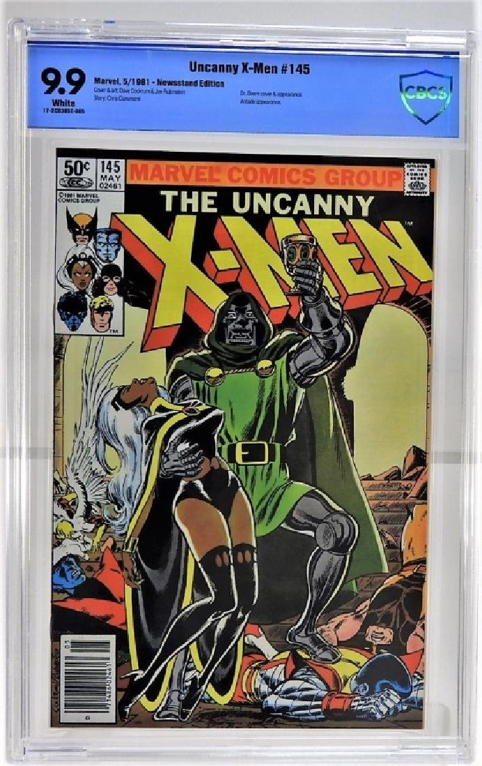 Marvel Comics Uncanny X-Men No.145 CBCS 9.9