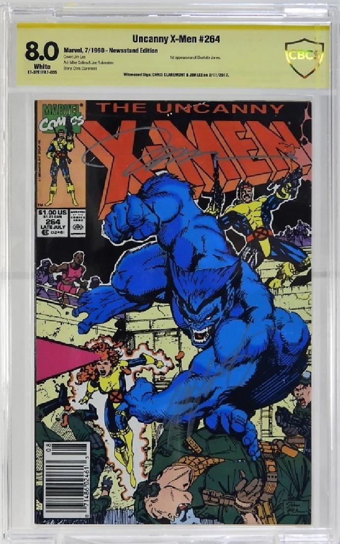 Marvel Comics Uncanny X-Men No.264 CBCS Gold 8.0