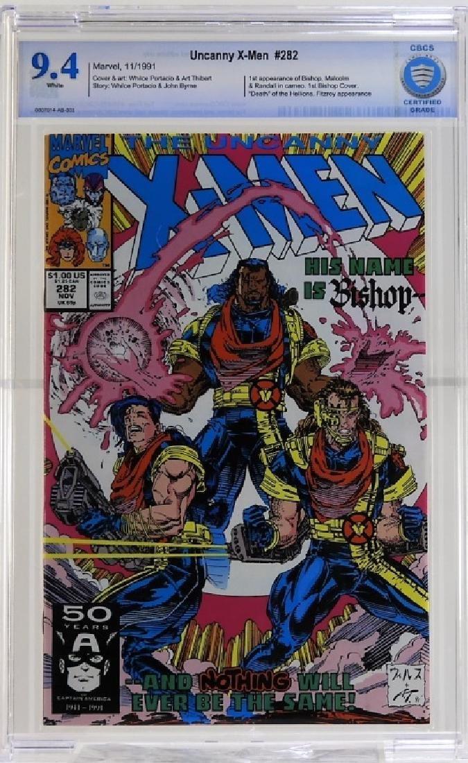Marvel Comics Uncanny X-Men No.282 CBCS 9.4