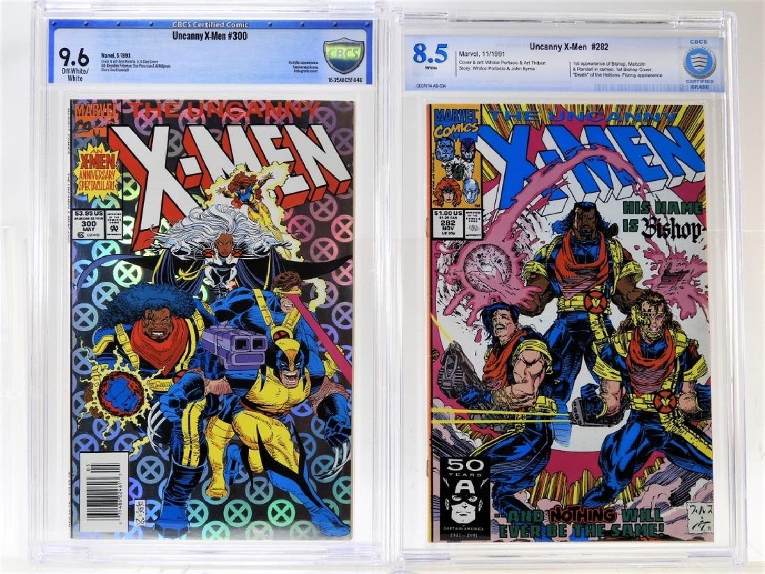 2 CBCS Graded Marvel Uncanny X-Men Comic Books