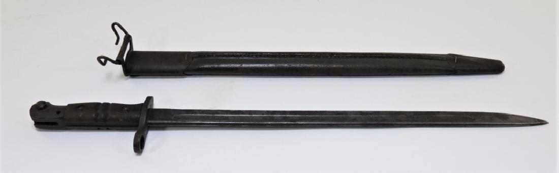 WWI U.S. Army M1917 Winchester Military Bayonet - 3